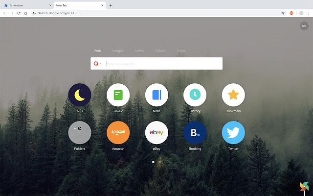 Infinity 新标签页 - 快速高效的管理你的常用网站