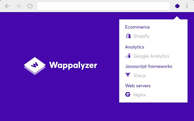 wappalyzer - 识别网站使用的库和框架的工具