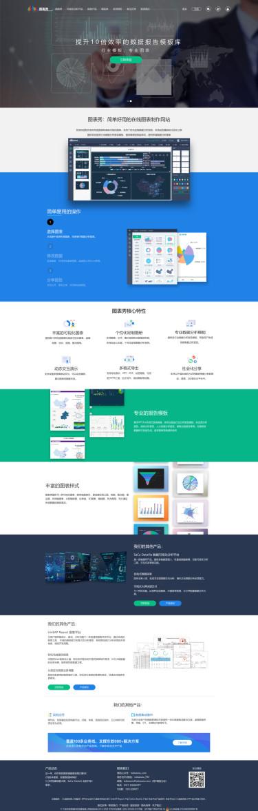 图表秀 - 免费在线图表制作工具,数据可视化工具
